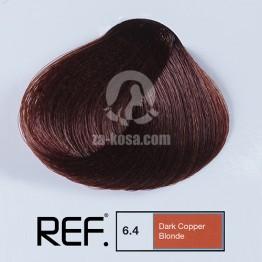 REF Colour 6.4 - Тъмно медно русо - 100 ml