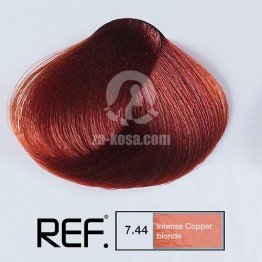 REF Colour 7.44 - Интензивно медно русо - 100 ml