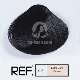 REF Colour 2.0 - Супер тъмно кафяво - 100 ml