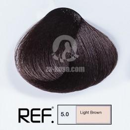 REF Colour 5.0 - Светло кафяво - 100 ml