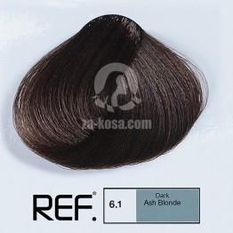 REF Colour 6.1 - Пепелно тъмно русо - 100 ml