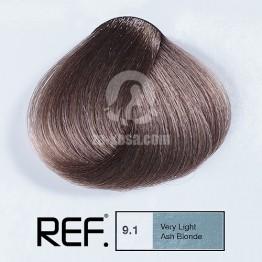 REF Colour 9.1 - Много светло пепелно русо - 100 ml