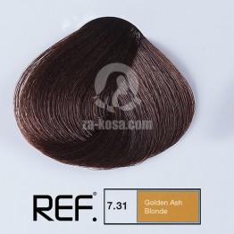 REF Colour 7.31 - Златно пепелно русо  - 100 ml