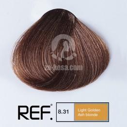 REF Colour 8.31 - Светло златно пепелно русо - 100 ml