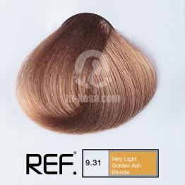 REF Colour 9.31 - Много светло златно пепелно русо - 100 ml