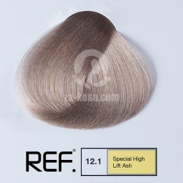 REF Colour 12.1 - Специално най-светло пепелно русо  - 100 ml
