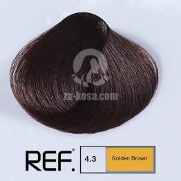 REF Colour 4.3 - Златно кафяво - 100 ml