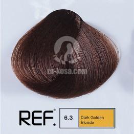 REF Colour 6.3 - Тъмно златно кафяво - 100 ml