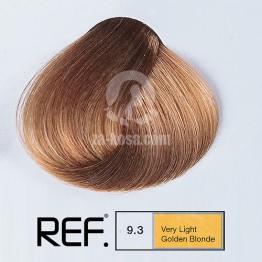 REF Colour 9.3 - Много светло златно русо - 100 ml