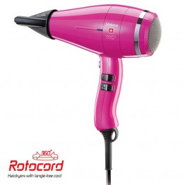 Безчетков сешоар Valera Vanity Hi-Power Hot Pink - 2400 W