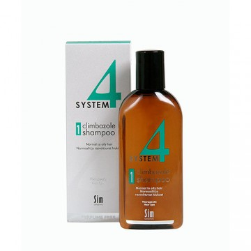 Шампоан №1 с климбазол за нормална до мазна коса - 215 ml