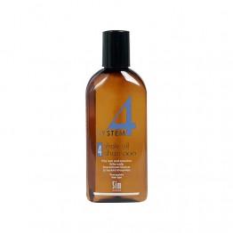 Шампоан №4 за мазна коса и чувствителен сърбящ скалп - 100 ml