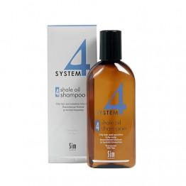 Шампоан №4 за мазна коса и чувствителен сърбящ скалп - 215 ml