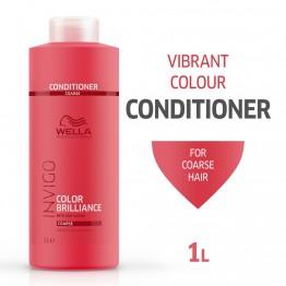 Балсам за блясък на боядисана гъста коса - Invigo Brilliance - 1000ml