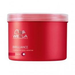 Маска за блясък на боядисаната нормална или тънка коса - Brilliance - 500 ml