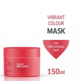 Маска за блясък на боядисаните гъсти коси - Invigo Brilliance - 150ml