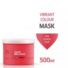 Маска за блясък на боядисаните гъсти коси - Invigo Brilliance - 500 ml