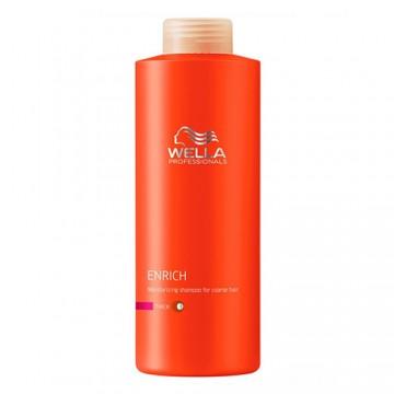 Подхранващ шампоан за суха изтощена гъста коса - Enrich - 1000 ml