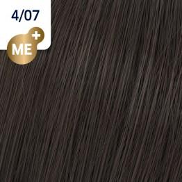 Wella Koleston Perfect 4/07 - Средно-кафяво натурално кафяво - 60 ml
