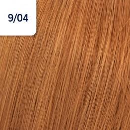 Wella Koleston Perfect 9/04 - Много светло-русо натурално медно - 60 ml