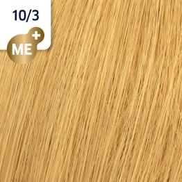 Wella Koleston Perfect 10/3 - Най-светло русо златисто - 60 ml