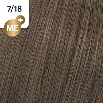 Wella Koleston Perfect 7/18 - Средно-русо пепелно перлено - 60 ml