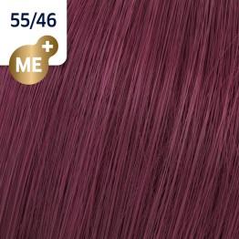 Wella Koleston Perfect 55/46 - Интензивно светло-кафяво червено-виолетово - 60 ml
