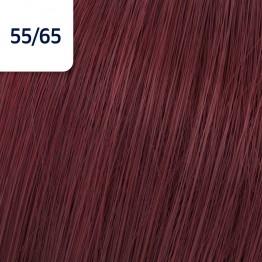 Wella Koleston Perfect 55/65 - Интензивно светло-кафяво виолетов махагон - 60 ml