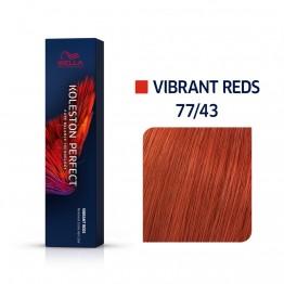 Wella Koleston Perfect 77/43 - Интензивно средно-русо червено-златисто - 60 ml