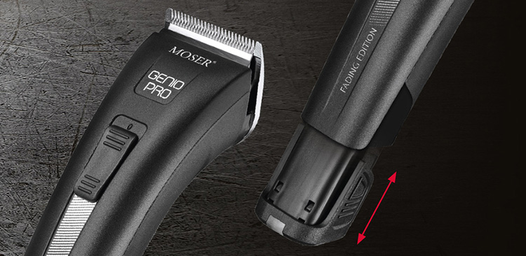 Новата машинка за подстригване Moser Genio Pro Fading Edition